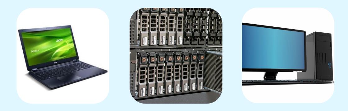 image of PCs laptops tablets servers