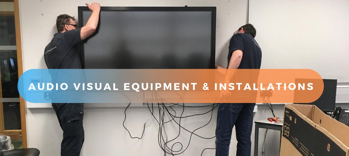 Audio Visual solution installation